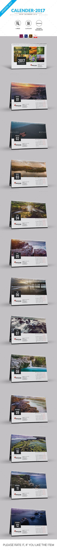 Desk Calendar for 2018