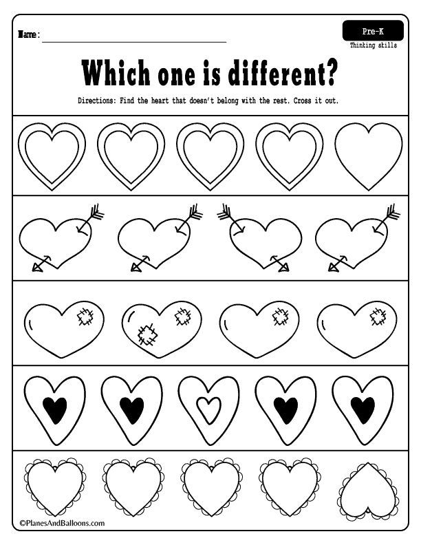 Valenitine's Day Worksheets For Preschoolers (Free Printables) Valentine  Worksheets, Preschool Valentines Worksheets, Valentines Printables Free