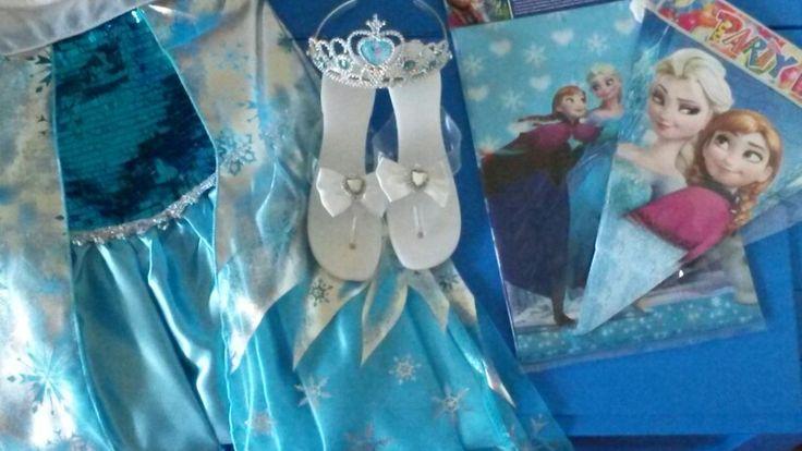 Frozen verkleedkist  Kinderfeestjes Atelier Paletje Groningen