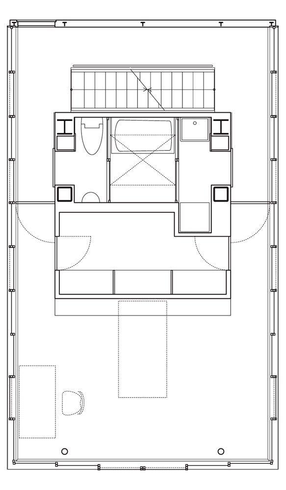 Gallery of Wall less house / Tezuka Architects - 16
