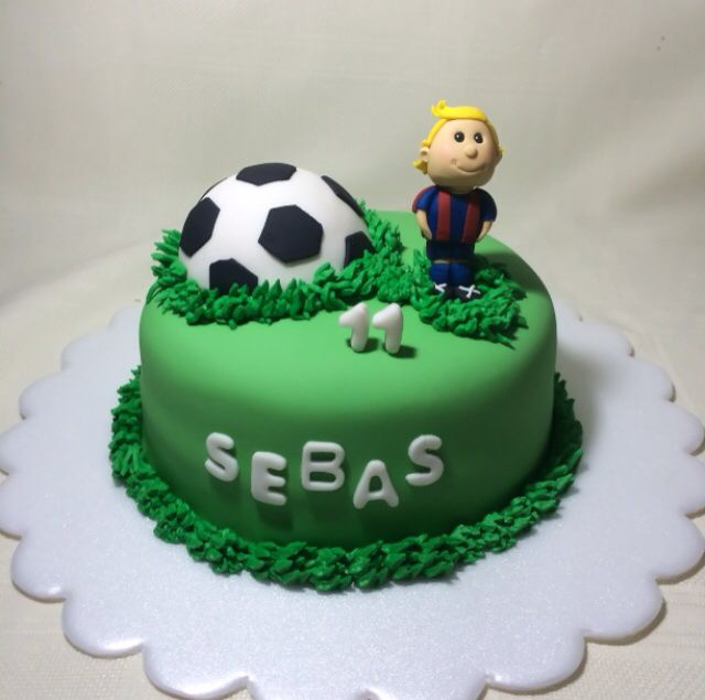 Birthday Cake Ideas Soccer : 37 best images about My cakes n cupcakes on Pinterest ...