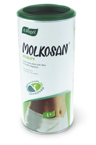 Molkosan Vitality   - Prebiotic powdered drink  - Rich in L+ lactic acid  - Made from organic milk  7 x 11g - £5.75 275g - £11.75