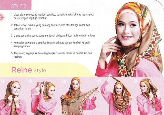 Square scarf, reine hijab tutorial   ZOYA   Hijab & muslim