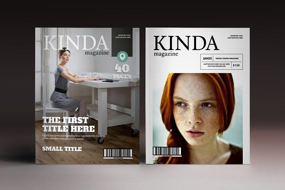 Kinda Magazine by Luuqas Design   #kinda #magazine