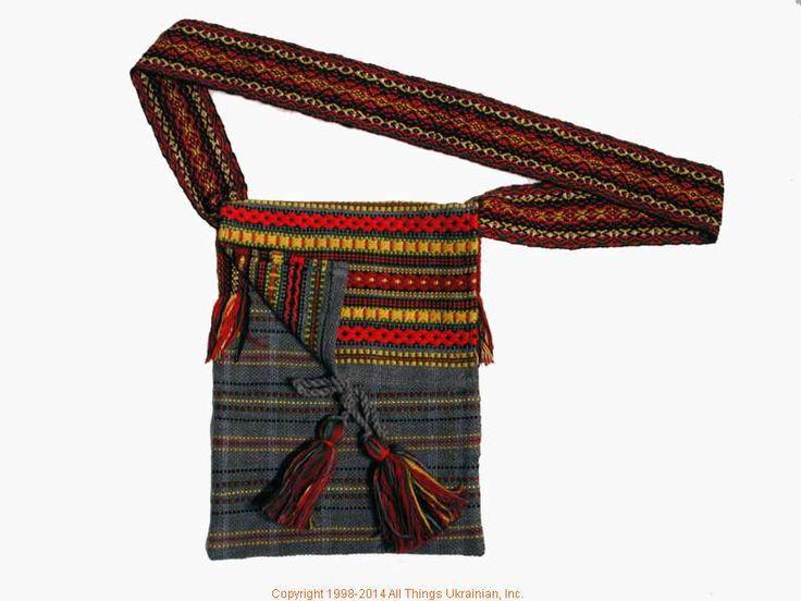 Handmade and hand woven Ukrainian over the shoulder handbag # HB14-55 Sold on  https://www.allthingsukrainian.com/Cloth/handbags/Thumb/Page1.php