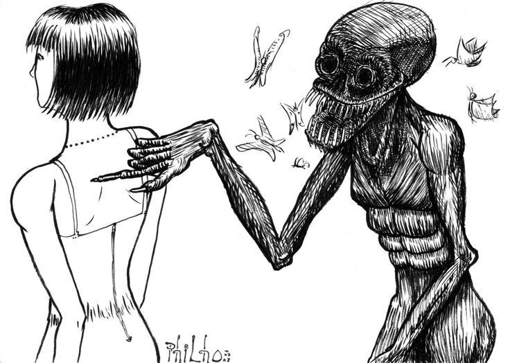 imagenes paranormales dibujos - Buscar con Google