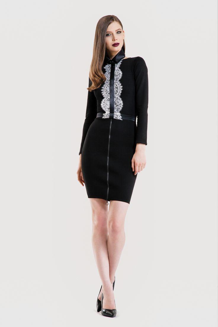 Quicksand dress/ Crack collar www.mumurstore.com