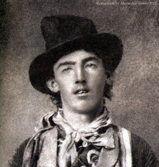 On September 23, 1875, Billy the Kid was arrested for the first time after stealing a basket of laundry. He later broke out of jail and roamed the American West, eventually earning a reputation as an outlaw and murderer, and had a rap sheet that allegedly included 21 murders.