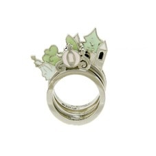 So cute! Cinderella ring set