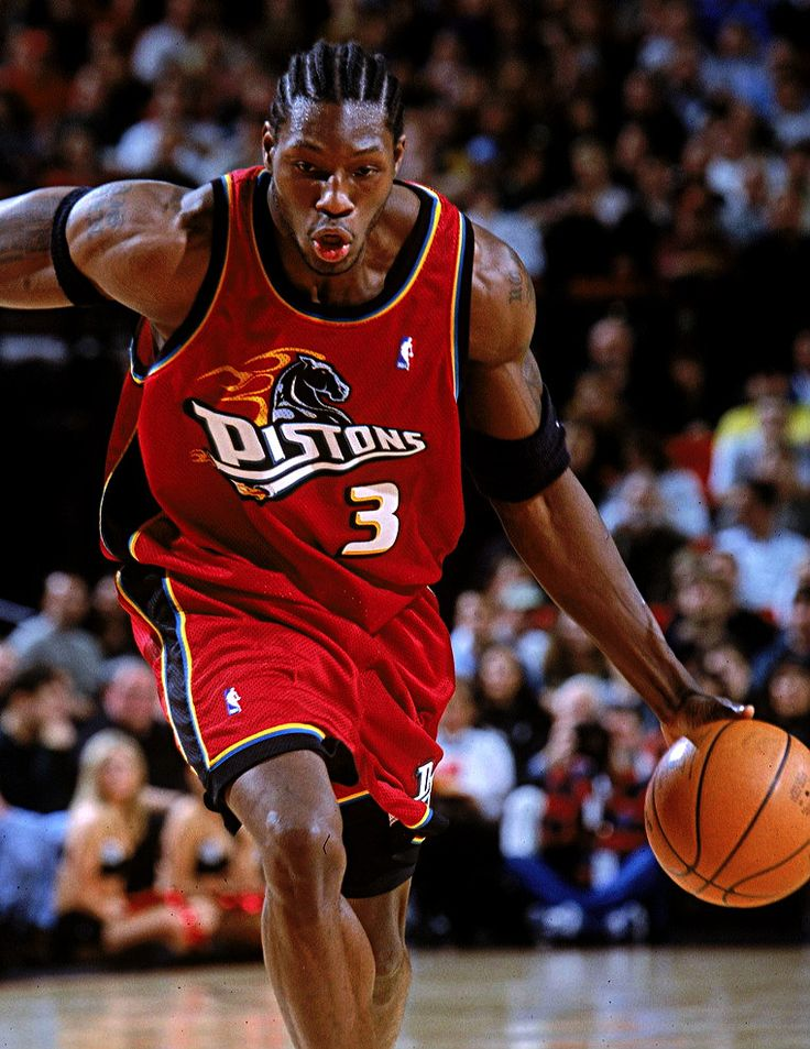 Image result for ben wallace 2000 pistons