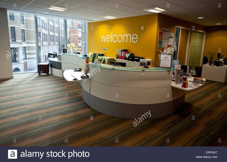 receptionist signs