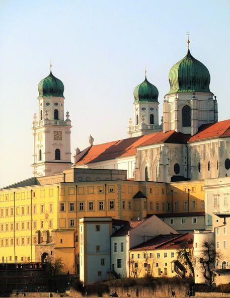 'Der+Dom+St.Stephan+in+Passau+II'+von+Martin+Blättner+bei+artflakes.com+als+Poster+oder+Kunstdruck+$16.63