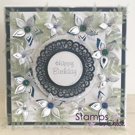 Dies by Chloe - CHCC-025 Layered Flower Die - £14.99 - Dies By Chloe Chcc025 Layered Flower Die - Chloes Creative Cards