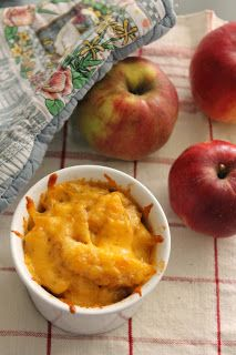 Cheddar Herb Baked Apple