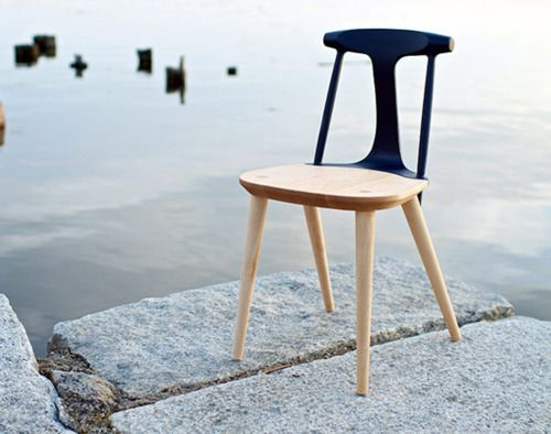 dipped back.: Wooden Chairs, New England, Corliss Chairs, Studiodunn, Furniture, Folding Chairs, Products, Studios Dunn, Chairs Design