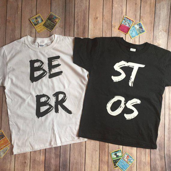 Best Bros Best Friend Boy Best Friend Brothers Shirt Set Black And White Shirt Set Twin Shirts Black And White Shirt Twin Shirts Brothers Shirts