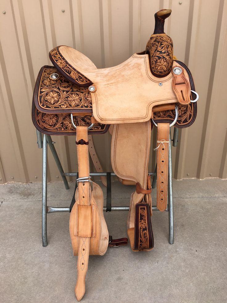 CSR 175 Corriente Team Roping Saddle
