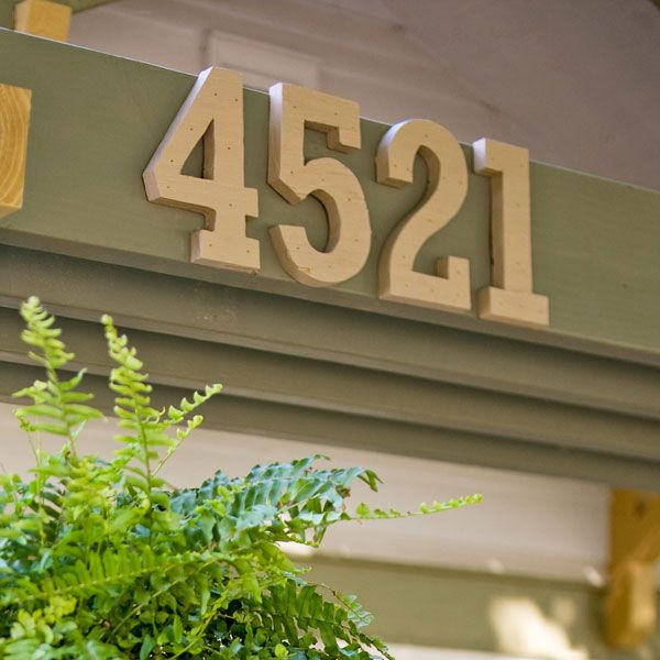 19 Best Creative House Numbers Images On Pinterest