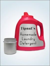 List of 10 home made laundry soap recipes.