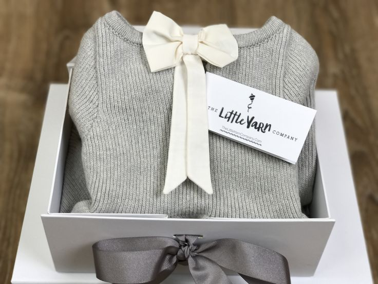 Luxurious Gift Box - FREE with every online purchase at www.thelittleyarncompany.com