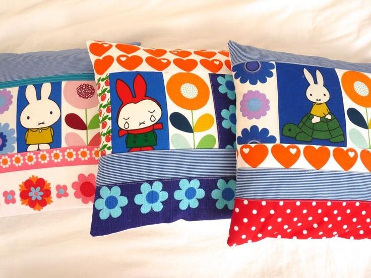 Miffy cushions - Jane Foster