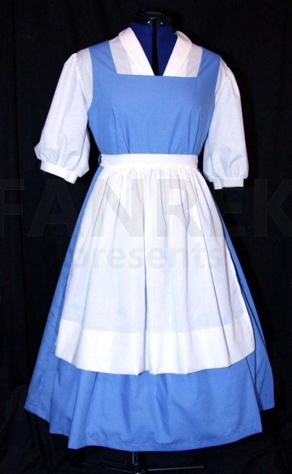 Beauty and the Beast Cosplay Belle Dress Costume