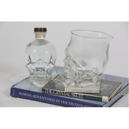 Gifts :: For Him :: Crystal Head Vodka by Artech Glass Blowing Studio $125