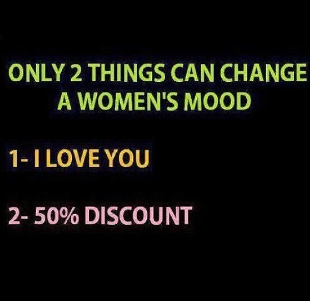 Womens mood