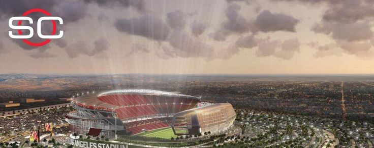 LA is lookin' good for some football! Roger Goodell says Los Angeles stadium plans look viable for bringing back an NFL team.