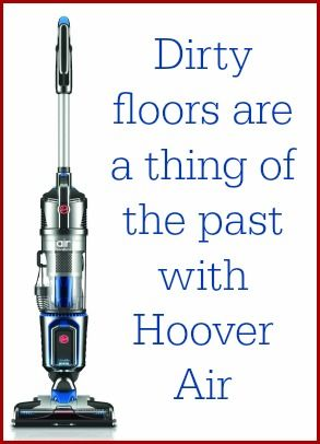 Dirty floors are a thing of the past! Meet the Hoover Air Cordless Vacuum!