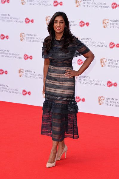 Tina Daheley attends the Virgin TV BAFTA Television Awards at The Royal Festival Hall on May 14, 2017 in London, England.