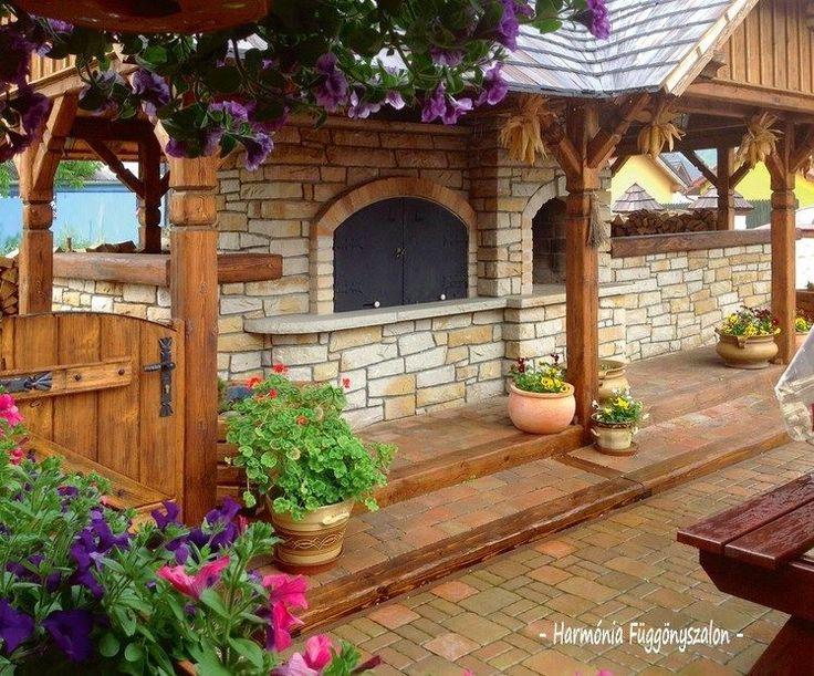 17+ kreatívnych nápadov na vonkajšie posedenie s grilom pre vašu záhradku! Očarí každého!   Báječné Ženy