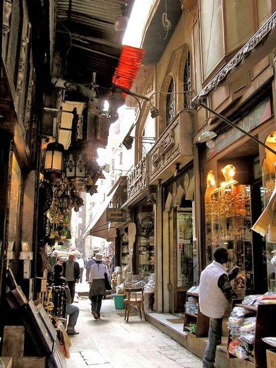 Khan El-Khalili - Gold market - Cairo