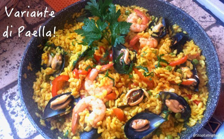 STOP EATING BADLY!: Un, dos, tres, Paella!