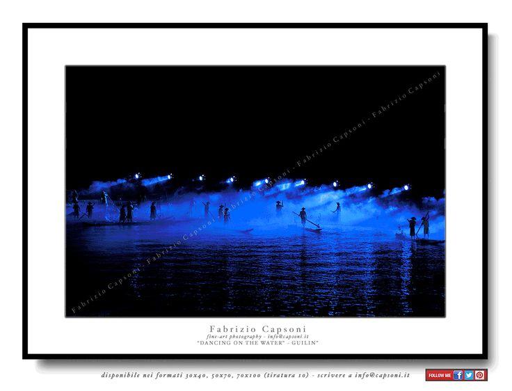 """Dancing on the Water"" Guilin ©2008 FABRIZIO CAPSONI - Fine Art Giclée Print on cotton paper - Limited edition - #fotografia #fineart #art #Interiors #homedecor"