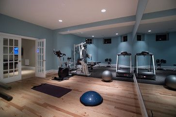 South-facing room, think I need a shade of blue or blue-green... What's the best color for a workout room? | Color Calling