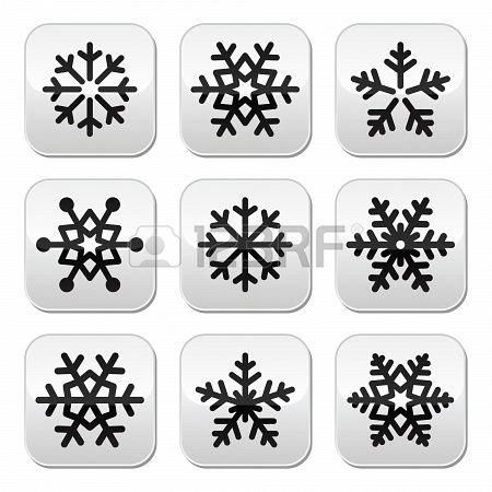 #Snowflake #wintervektor #nailart