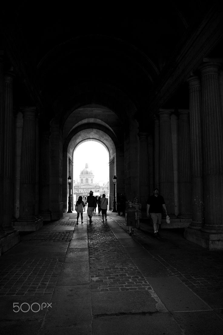 Au Louvre - Louvre, Paris