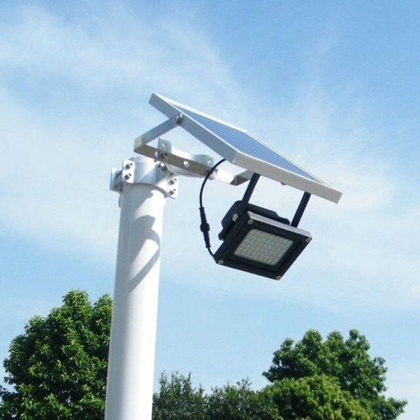 Solar 54 Led Light Sensor Flood Spot Lamp Garden Outdoor Security Waterproof L Solar Flood Lights Outdoor Security Lights Solar Street Light