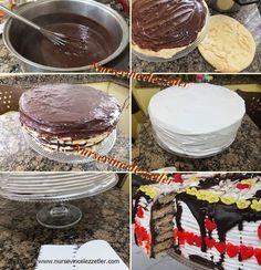 amonyaklı bisküvi pastası , Amonyaklı pasta tarifi,amonyaklı kremalı pasta nasıl yapılır, pastalar , farklı pasta tarifleri, kakaolu pasta ,