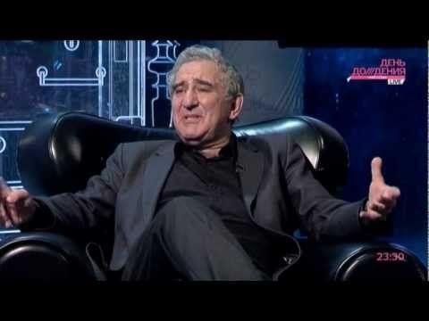 Михаил Казиник на телеканале «Дождь»