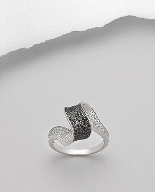 "Wave Ring, smukke ""Copacabana beach"" design!"