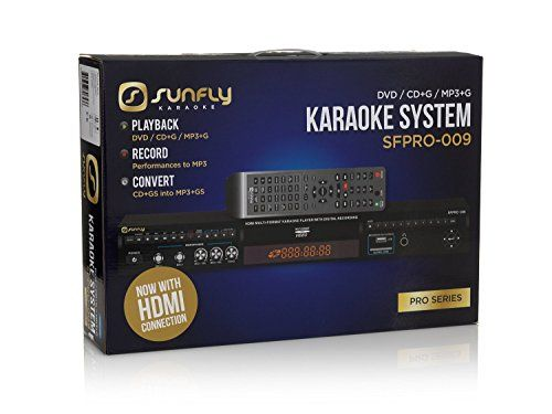 Sunfly Karaoke SFPRO-009 CDG Karaoke Machine No description (Barcode EAN = 0604797706536). http://www.comparestoreprices.co.uk/december-2016-6/sunfly-karaoke-sfpro-009-cdg-karaoke-machine.asp