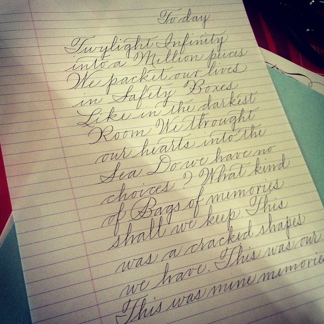 93 Best Handwriting Images On Pinterest