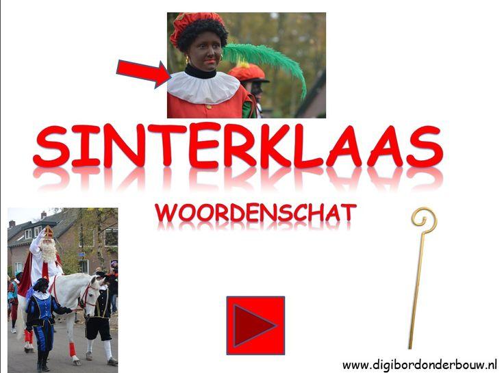 PowerPoint - Sinterklaas woordenschat