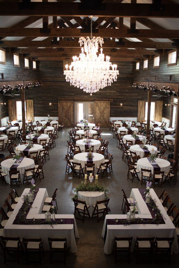 Peach Creek Ranch - College Station  Wedding Venue #weddingvenues #7centerpieces #ChairDecorations