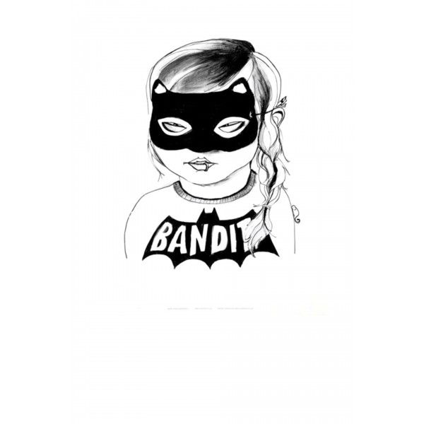 Bandit Girl poster  - Mini & Maximus