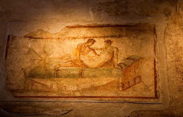 The Houses of Pleasure in Ancient Pompeii