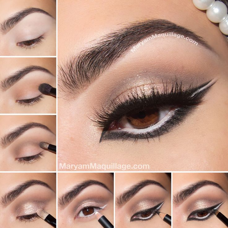 Graphic, Glam & Exotic: Arabic Makeup