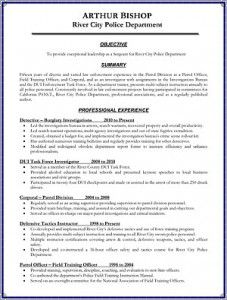 law enforcement operations plan template - law enforcement resumes resume ideas